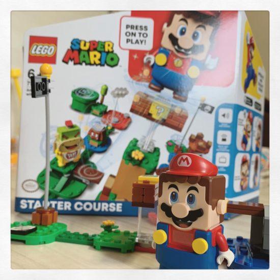 LEGOマリオの写真です